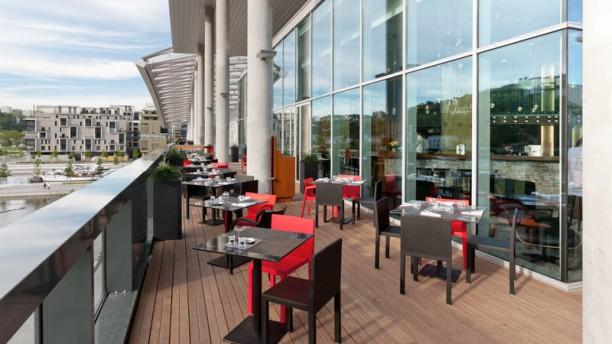 N'Café Lyon Confluence Terrasse