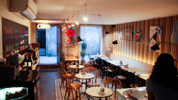 Blu Cafe Sala del restaurante