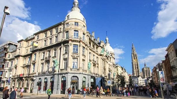 Brasserie Stadscafé Antwerpen Devanture