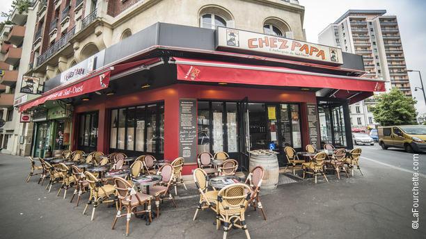 restaurant chez papa paris 75019 buttes chaumont belleville p re lachaise m nilmontant. Black Bedroom Furniture Sets. Home Design Ideas