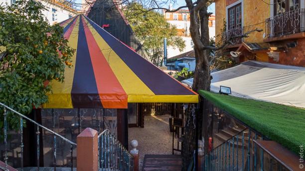 Chapitô à Mesa - Terrace Grill entrada