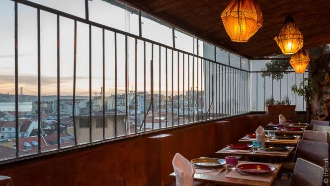sala - Chapitô à Mesa - Terrace Grill, Lisboa
