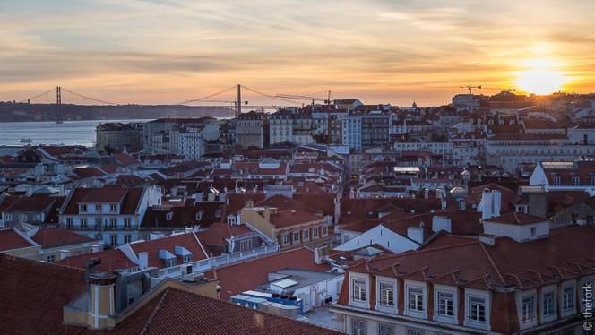 vistas - Chapitô à Mesa - Terrace Grill, Lisboa