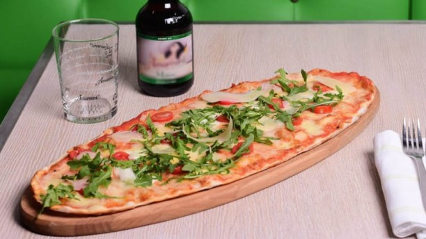 Pizza zero Sugerencia del chef