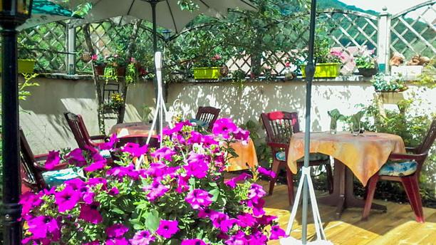 L'Auberge Fleurie terrasse
