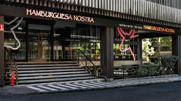 Hamburguesa Nostra - María de Molina Vista entrada