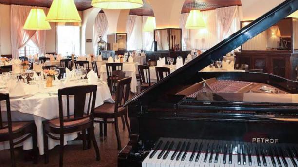 Leite Sala do restaurante