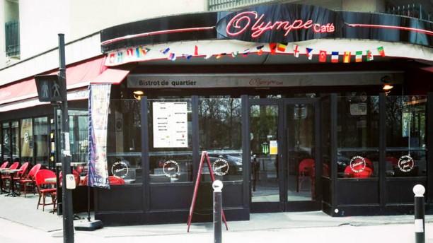 L'Olympe Façade du restaurant