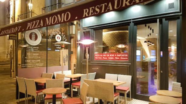 Pizza Momo entrée