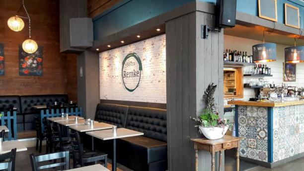 Bistro Remke Het restaurant
