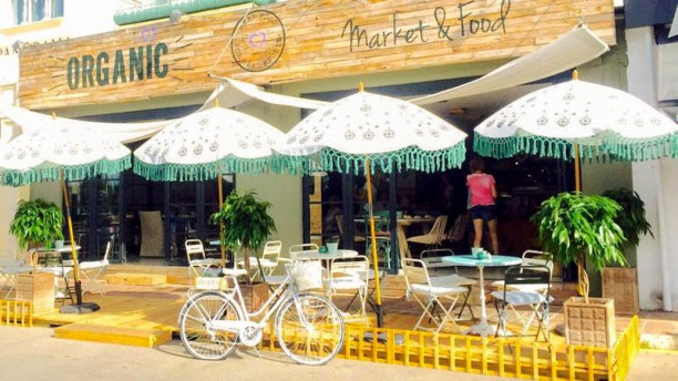 Organic Market & Food Entrada