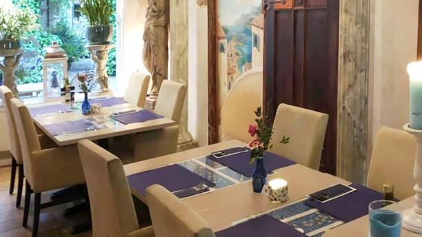 Grieks Mediterraans Restaurant Mythos Het restaurant
