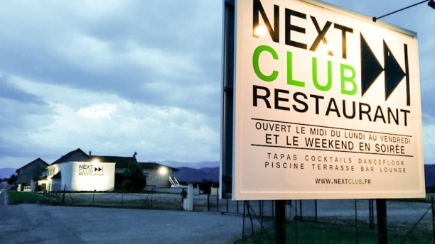 Next Club Restaurant Parking