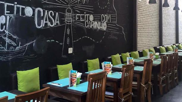 BeFresh Sala do restaurante