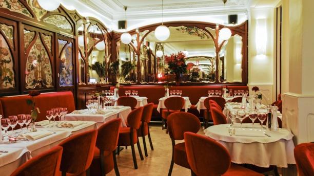 Café Barjot Vue de la salle