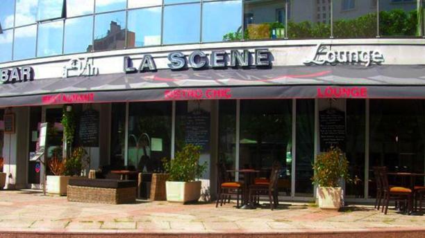 La Scène façade du restaurant
