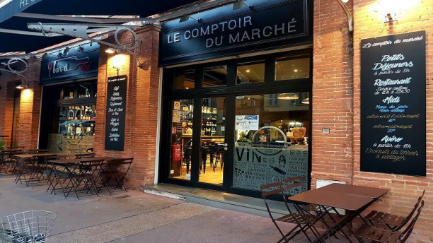 restaurant le comptoir du march toulouse 31000 menu avis prix et r servation. Black Bedroom Furniture Sets. Home Design Ideas