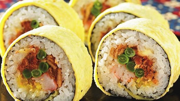 Gho Hfan Burrito mariposa roll