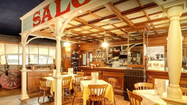 Buffalo Bill steak-house pizzeria Vista sala