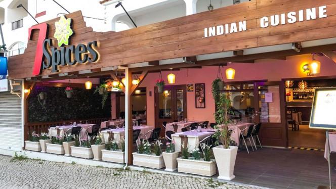 7spices indian cusine ristorante indiano a Albufeira in Portogallo