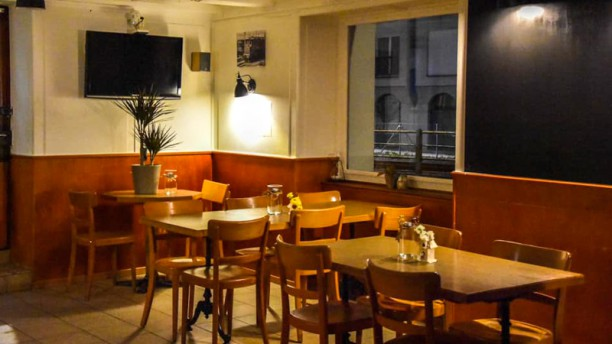 Restaurant du Chemin de fer Vue de la salle