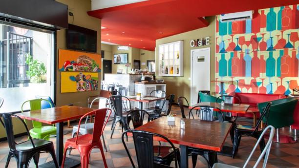 Burger&Pizza Vista sala