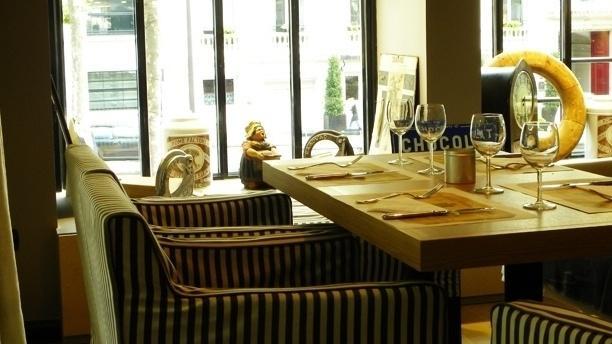 Boulangerie Joséphine Table dressée