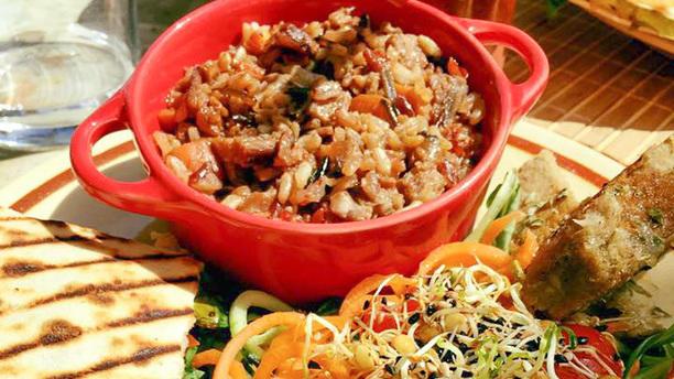 Verdura i Cultura Nuestro Plato Mixto Vegetariano-Vegano