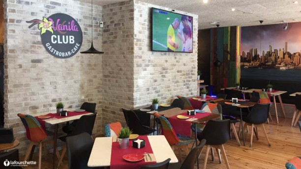 Vanila Club Gastrobar café Vista sala