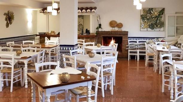 Mesón Bar Piedra Sala del restaurante