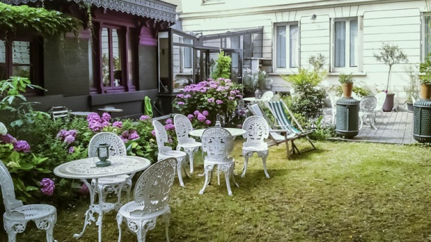 Hôtel Des Jardins terrasse