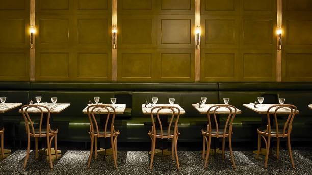 Alcazar Restaurant salon vert