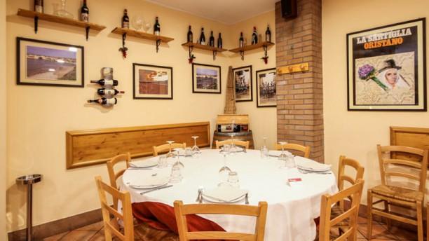 Sa Sartiglia Sala del ristorante