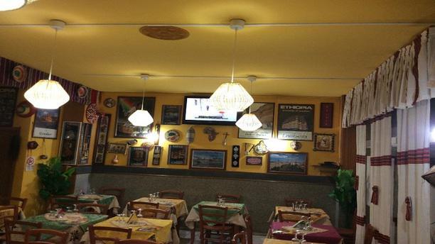 Enqutatash ristorante africano etiope Vista Sala