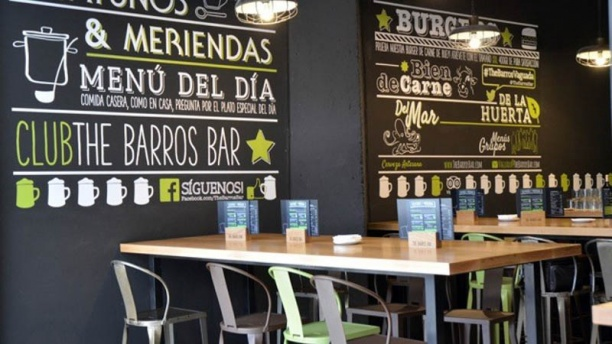 The Barros Gastrobar Vista mesas