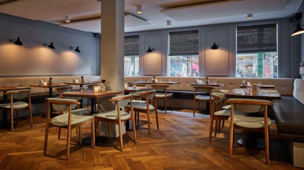 Vanderveen Bar & Kitchen Interieur