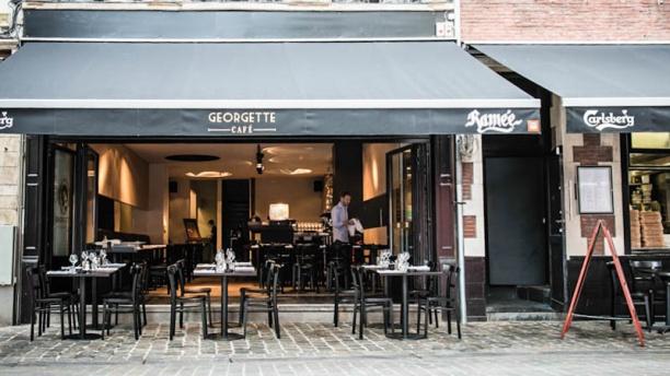 Café Georgette Devanture