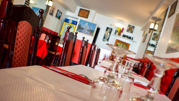 Curry House Table dressée