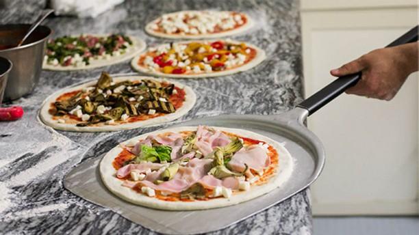 Tío Pizza, Señor Spaghetti Vista cocina