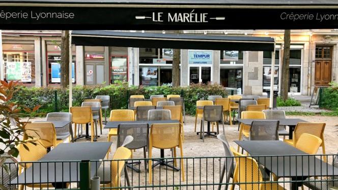 Terrasse - Le Marélie Brotteaux, Lyon