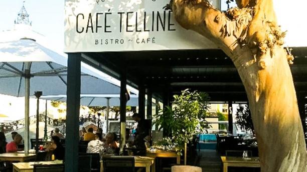 Café Telline Vue devanture