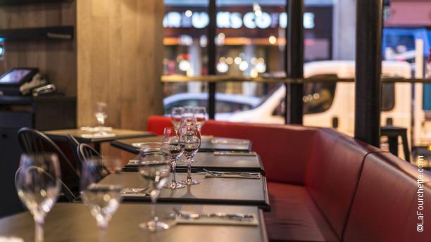 Decoration De Table Menu Rouge : Rouge bis in paris restaurant reviews menu and prices thefork