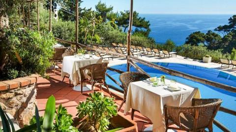Al Chiaro di Luna     pool_&_restaurant, Capri