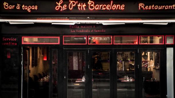 Le P'tit Barcelone Devanture