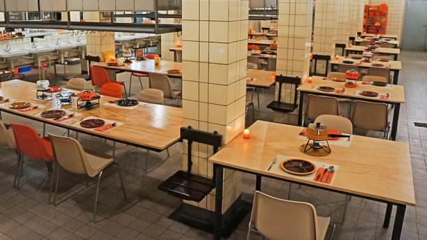 Retro Fondue Restaurant Strijp-S Restaurantzaal