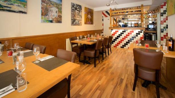 Fusion Grill Harlem restaurantzaal
