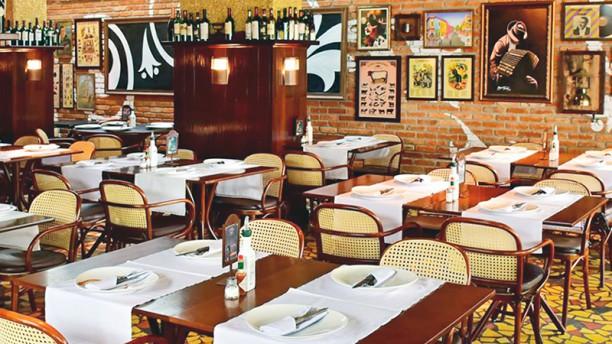 Las Tablas Sala do restaurante