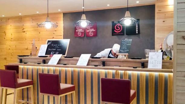 Sagaro sushi Vista de la sala