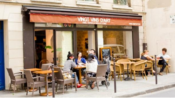 VINGT VINS D'ART Bienvenue au restaurant Vingt Vins d'Art