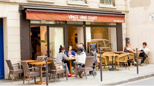 VINGT VINS D'ART Bienvenue au restaurant Vingt Vins d'Art